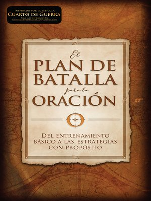 cover image of El plan de batalla para la oración
